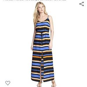 Michael Kors Stripe Camisole Maxi Dress
